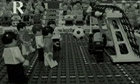 LEGO Fussball: England v West Germany, World Cup final 1966