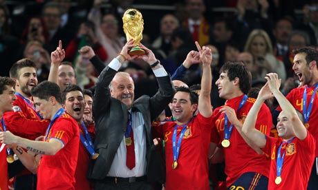 Del Bosque and team