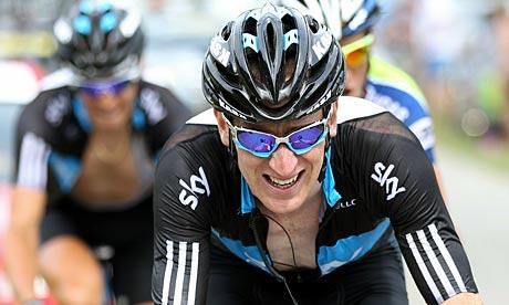 Bradley Wiggins stage nine