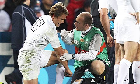 Jonny Wilkinson injured