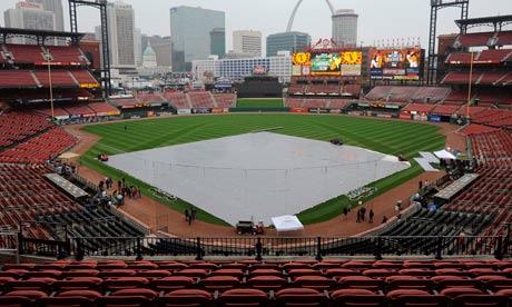 Texas Rangers at St Louis Cardinals