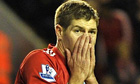 Steven Gerrard has only recently returned from injury for Liverpool