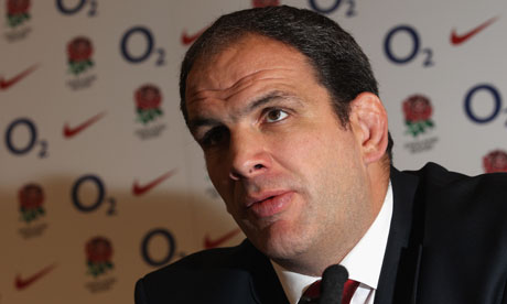Martin Johnson was told by Sir Clive Woodward that he would have been
