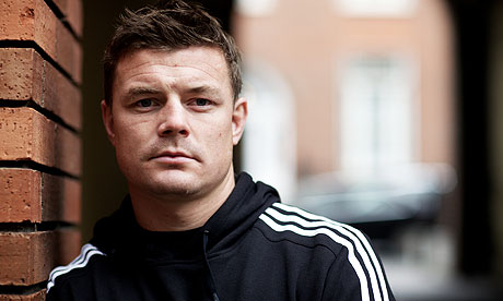 Brian O'Driscoll reveals his fears of life after rugby   Kevin Mitchell   Sport   The Guardian - Brian-ODriscoll-007
