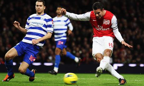 Prediksi Arsenal vs QPR, Sabtu 27 Oktober 2012 pukul 20.45 WIB - berita Liga Inggris