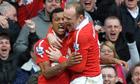 Wayne Rooney Nani Manchester United