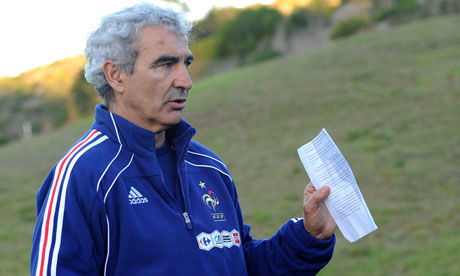 Raymond Domenech claims France qualifying for World Cup was catalyst for Ukraine crisis [GQ Magazine]