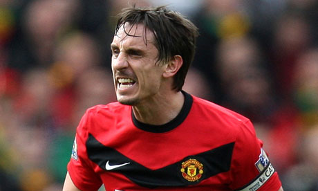 Video: Gary Nevilles brilliant analysis of Manchester Uniteds defensive frailties in Spurs defeat