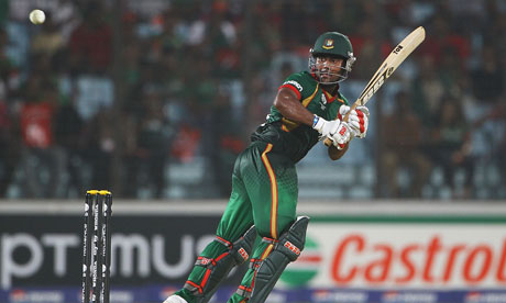 The Bangladesh batsman Imrul Kayes
