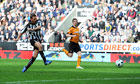 Joey Barton powers Newcastle to crushing win over Wolves