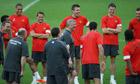 Manchester United Sir Alex Ferguson Schalke