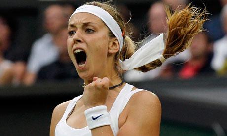 Wimbledon 2013 | Sabine Lisicki v Agnieszka Radwanska July 4, 2013