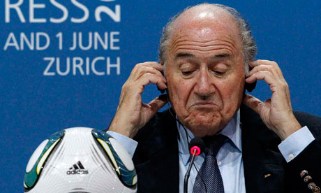 Blind eyes and closed ranks at the crazy court of Fifa&#39;s Sepp ...