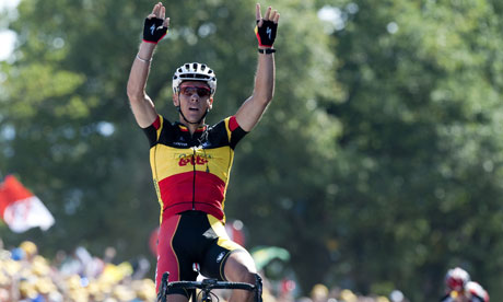 Tour de France 2011: Belgium's Philippe Gilbert