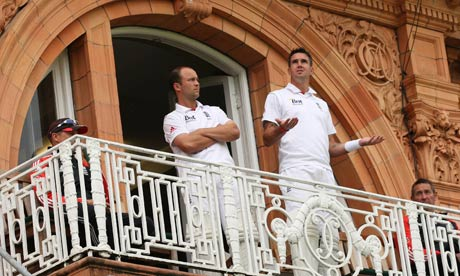Kevin Pietersen and Jonathan Trott