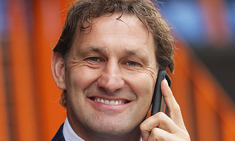 Tony Adams on the phone