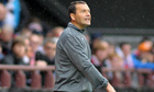Hearts defeat Hibernian to increase pressure on Colin Calderwood
