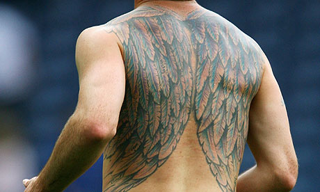 Zlatan Ibrahimovic Back Tattoos