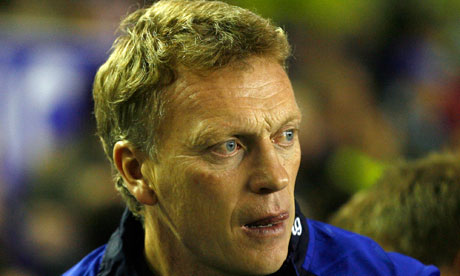 David Moyes fears Everton may never match the financial resources of Liverpool.