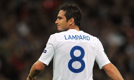 England's Frank Lampard is 33