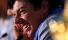 Rory McIlroy after Europe's victory in the Ryder Cup