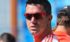 England's Kevin Pietersen has held contract talks with ECB officials