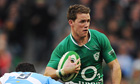 Ireland's Craig Gilroy breaks through against Argentina