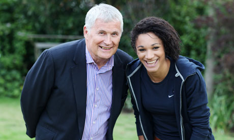 Barrie Wells is financially supporting a number of Britain's athletes, including Jodie Williams