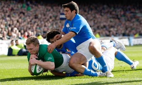 Ireland v Italy, Keith Earls