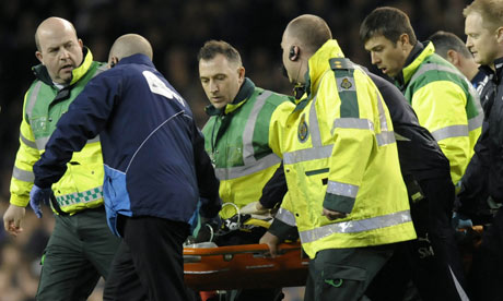 Fears for FABRICE MUAMBA after midfielder collapses on pitch at ...
