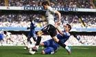 Tottenham Hotspur's Gareth Bale in action at Stamford Bridge.