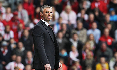 Nigel Adkins, the Southampton manager, is excited at trying his luck in the Premier League