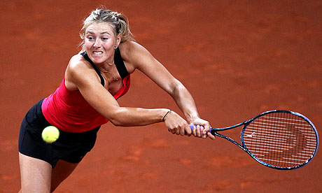 Maria Sharapova claims Stuttgart event after beating Victoria Azarenka