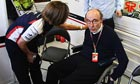 Sir Frank Williams, the team principal, has received an offer of help from McLaren