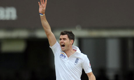 Jimmy Anderson, England v West Indies