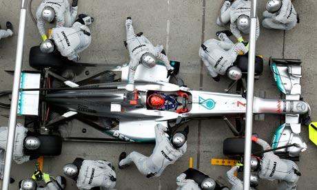 Michael Schumacher at the Grand Prix of China