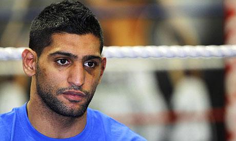 Amir Khan likely to be reinstated as WBA light-welterweight champion | Sport | The Guardian - Amir-Khan-008
