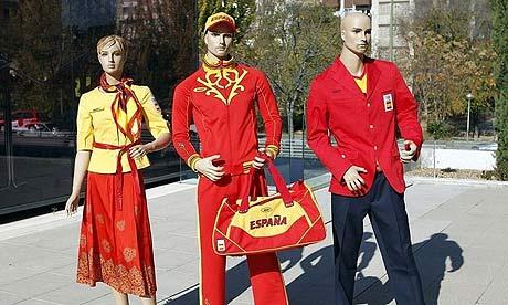 Spanish Olympic clothing