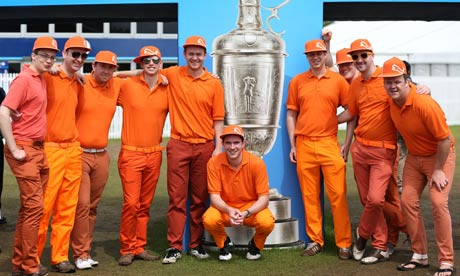 Dutch people or Rickie Fowler fans