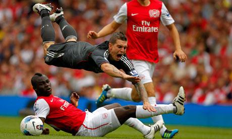 Arsenal's Emmanuel Frimpong