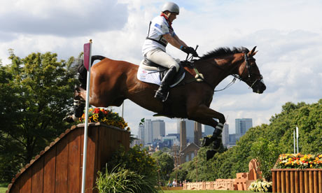 Zara Phillips of Great Britain riding High Kingdom over fence Royal ...