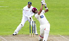 Mark Boucher, the South Africa wicketkeeper, required surgery after he was hit in the eye by a bail