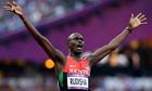 David Rudisha, the Olympic 800m winner, was inpired by Sebastian Coe