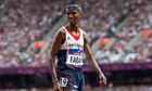 Mo Farah looked a tired man when he finished third in his qualifying heat for the 5,000m