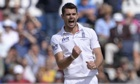 Jimmy Anderson will depart for Australia with the rest of the England's Ashes squad next Wednesday