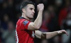 Robin van Persie and Nemanja Vidic may return for Leverkusen trip