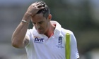 England's Kevin Pietersen lasted for only 10 balls against Australia A