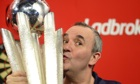 Phil Taylor has won 16 world titles but still feels nervous in PDC World Championship first round