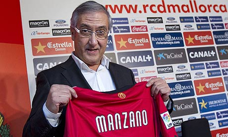 It's him gaian: Gregorio Manzano is back at Real Mallorca.