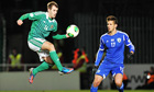 Niall McGinn of Northern Ireland